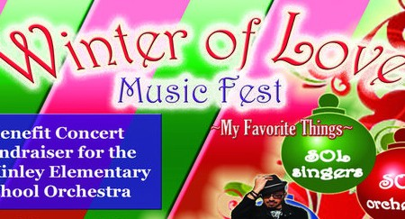 We would like to thank Maestro Curtis and his lovely family for organizing the Winter of Love Music Fest.  We would love to keep this event going, and if you did not get a chance to go you still have an opportunity to contribute to the cause by logging on...