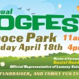 We are just 2 months away from our annual DogFest. Visit the official website here and the official Facebook page here.